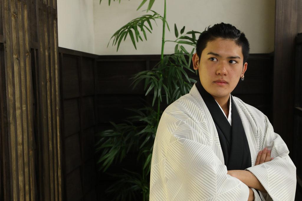 堺市の成人式男性袴