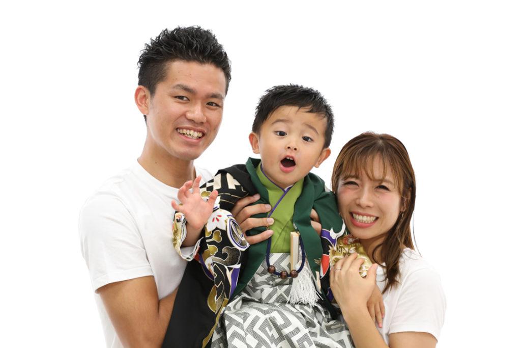 七五三家族写真泉佐野店
