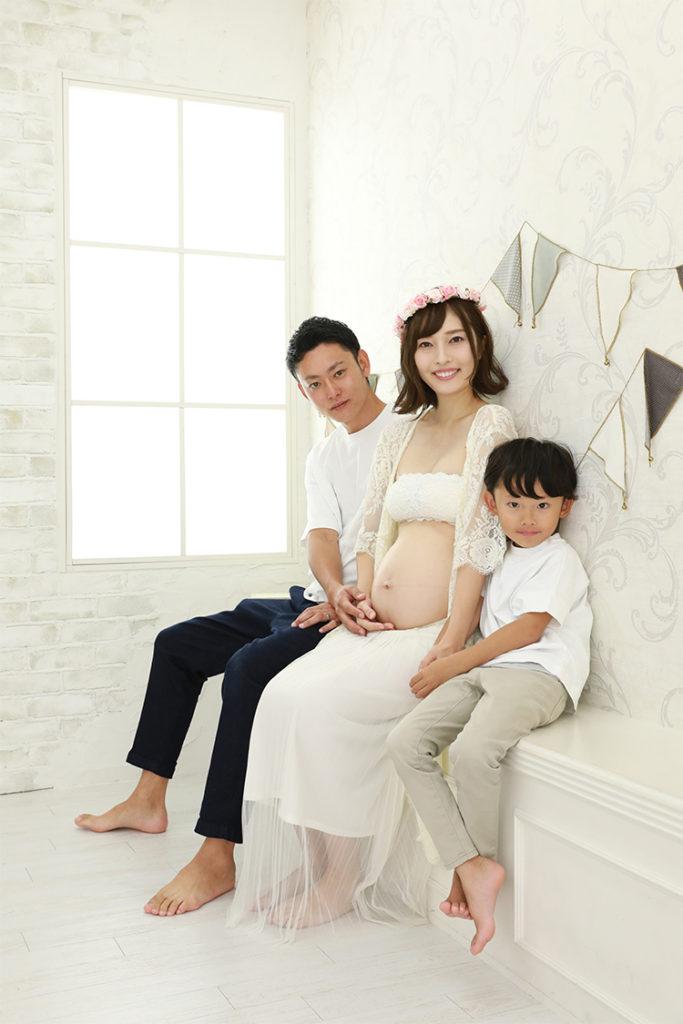 マタニティ 家族 撮影 前撮り 持込ドレス