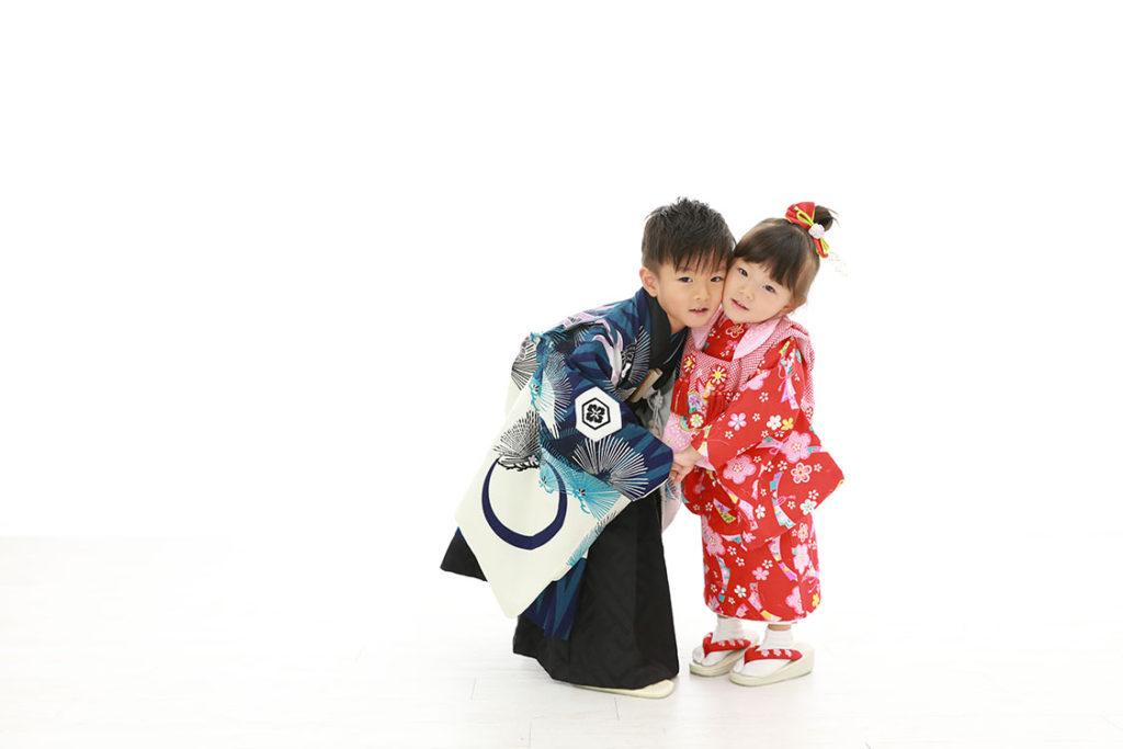 七五三 兄妹 撮影 スタジオ レンタル衣装