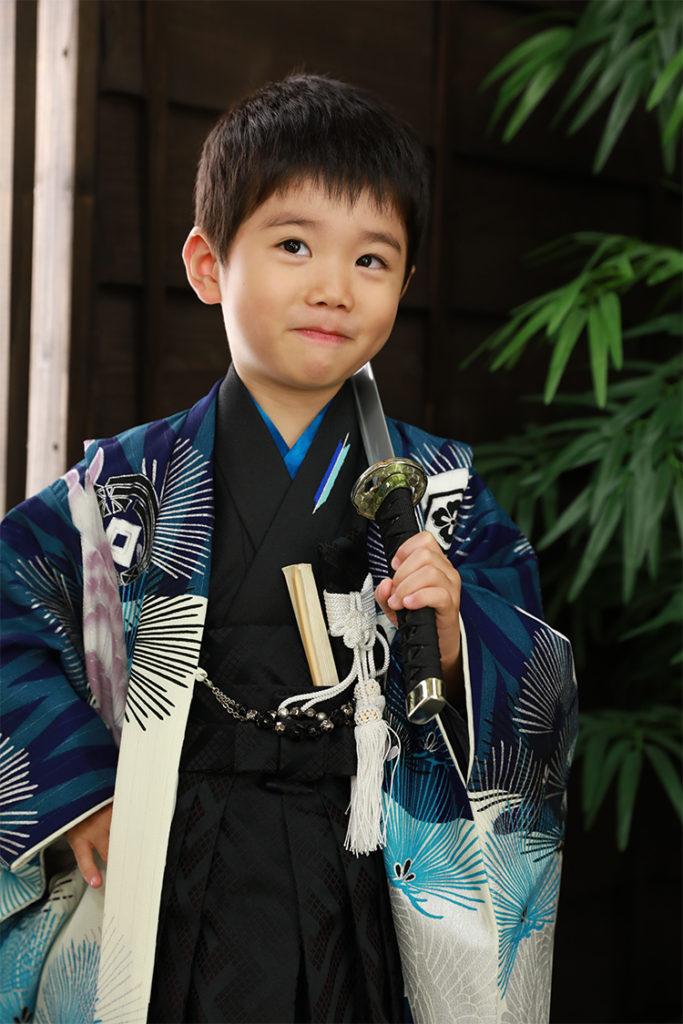 七五三 男の子 男児袴 刀