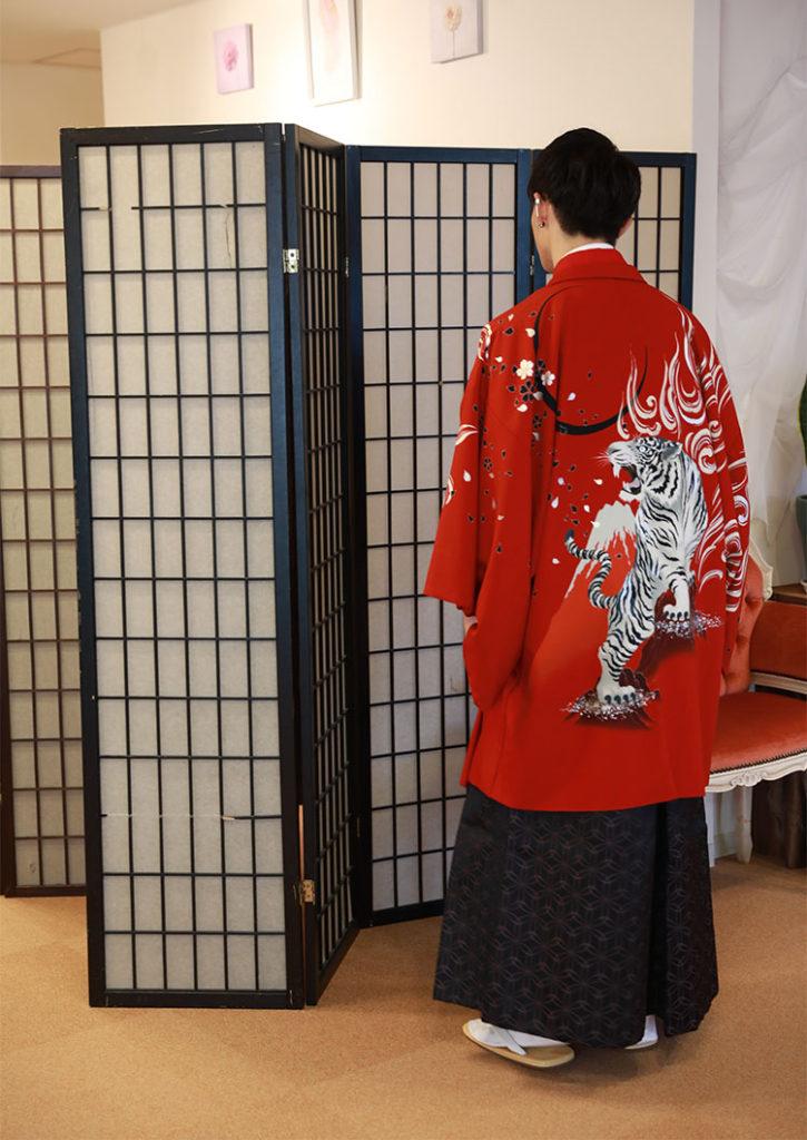 成人式 男の子 羽織袴