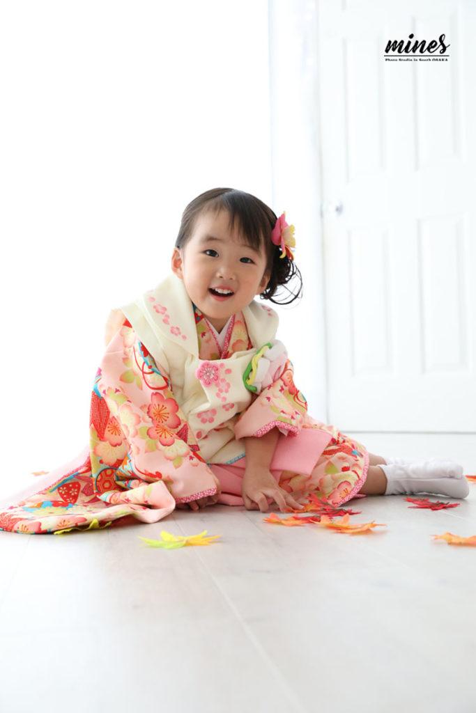 3歳女の子和装
