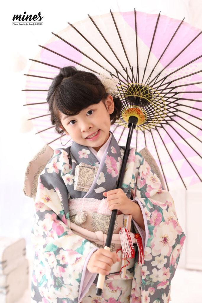7歳女の子和装