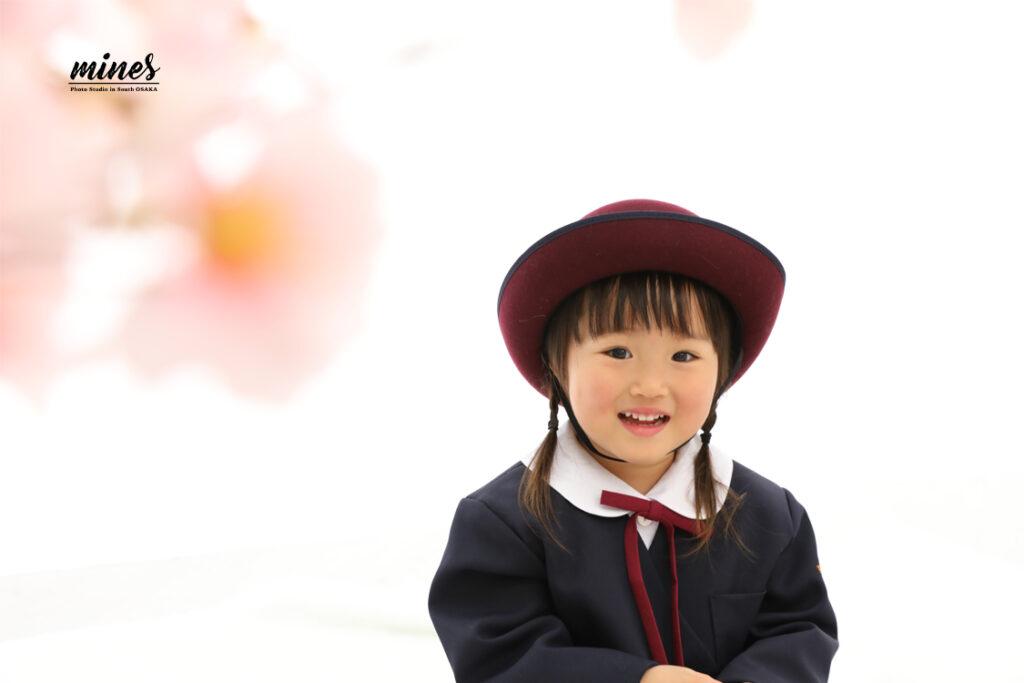 入学シーズン入園式写真館泉佐野市
